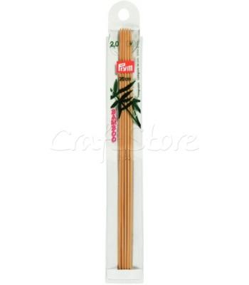Καλτσοβελόνες Bamboo 20cm Νο 2