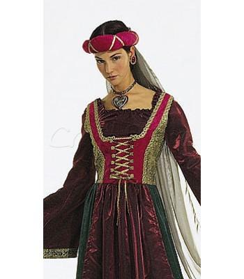 Burda Πατρόν Κυρία του Κάστρου 2509