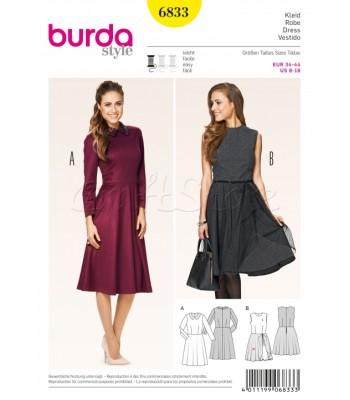 Burda Πατρόν Φορέματα 6833