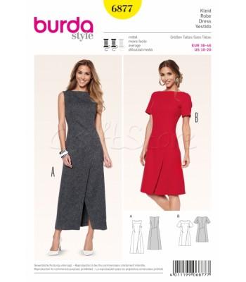 Burda Πατρόν Φορέματα 6877