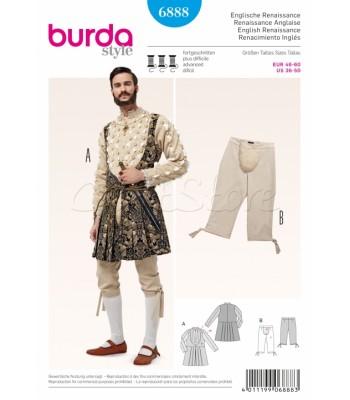 Burda Πατρόν Ιστορικά Κοστούμια 6888