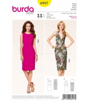Burda Πατρόν Φορέματα 6917