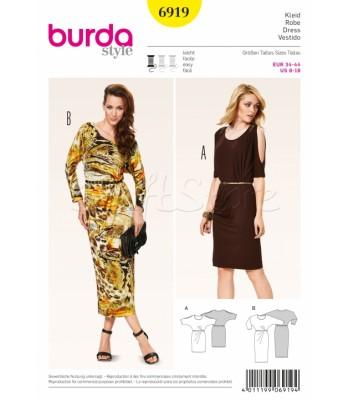 Burda Πατρόν Φορέματα 6919