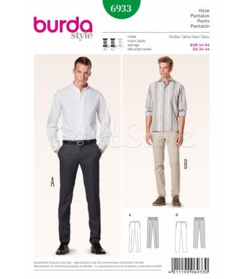 Burda Πατρόν Ανδρικά Παντελόνια 6933