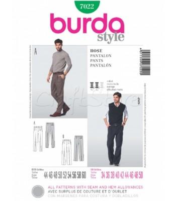 Burda Πατρόν Ανδρικά Παντελόνια 7022