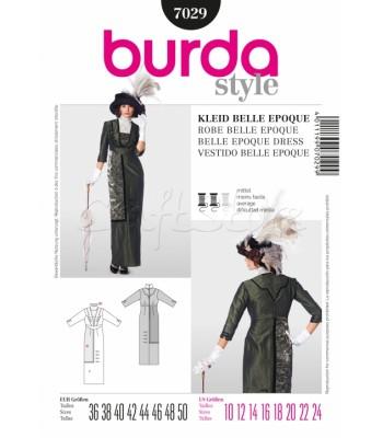 Burda Πατρόν Ιστορικό Φόρεμα 7029