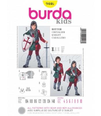 3cb980ee94b Burda Πατρόν Παιδική Στολή Σταυροφόρου 9446