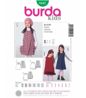 b683029c466 Burda Πατρόν Παιδικά Φορέματα 9447
