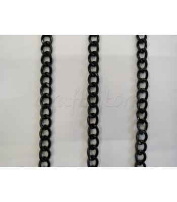 Αλυσίδα 10x15mm Μαύρη