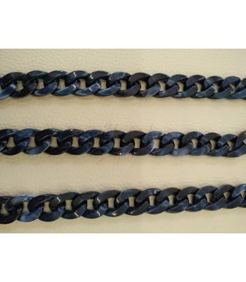 Ακρυλική Αλυσίδα 20x15mm Μπλε
