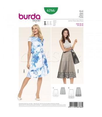 Burda  Πατρόν Φούστες 6766