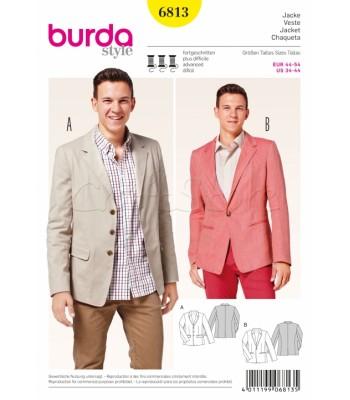 Burda Πατρόν Ανδρικά Κοστούμια 6813
