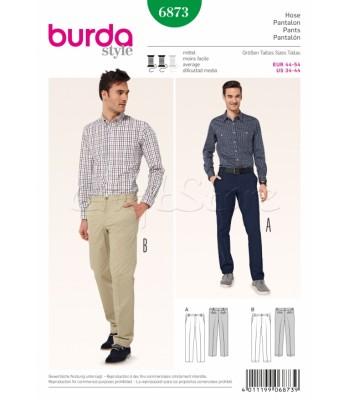 Burda Πατρόν Ανδρικά Παντελόνια 6873