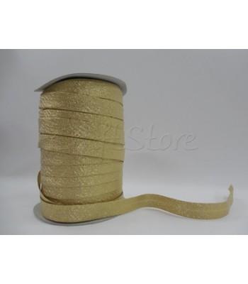 Κορδέλα Ρέλι 14mm Χρυσή (60 μέτρα)