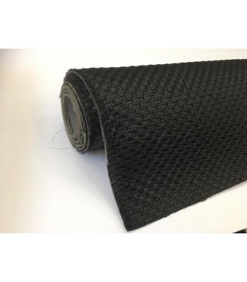 Ψάθα Ιταλίας για τσάντες 35cm Μαύρο