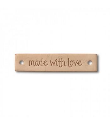 Ετικέτα made with love