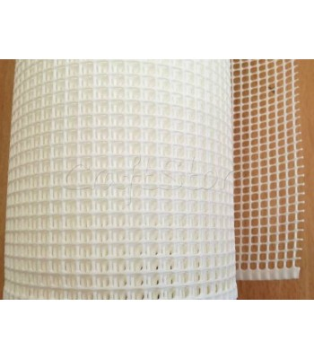 Πλέγμα για Τσάντες Λευκό 5x5 1μ.