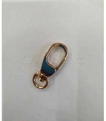 Γάτζος Μεταλλικός Μίνι 15*36mm Χρυσό