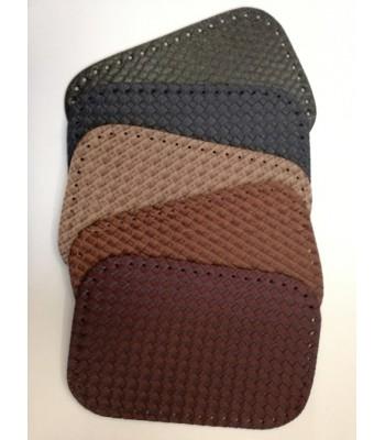 Βάση Τσάντας  Γκρι 18*28cm Ανάγλυφη