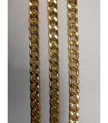 Αλυσίδα Αλουμινίου Χρυσό 11x15mm/3mm
