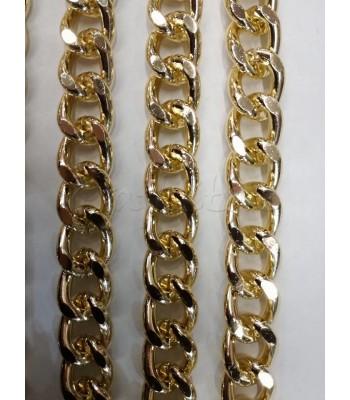 Αλυσίδα Αλουμινίου Χρυσό 13x17mm/3.5mm