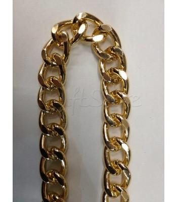 Αλυσίδα Αλουμινίου Χρυσό 15x19mm/4mm