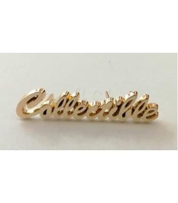Ταμπελάκι ομορφιάς 5cm Collectible Χρυσό