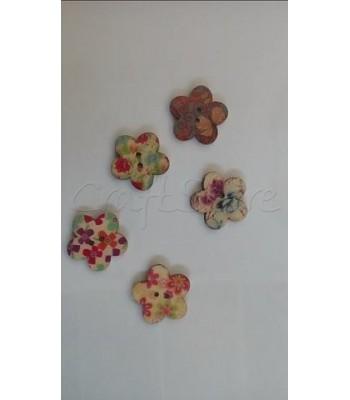 Κουμπιά Μαργαρίτες 20mm (10 τεμάχια)