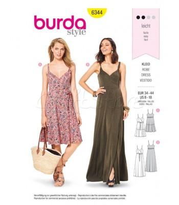 Burda Πατρόν Φορέματα 6344
