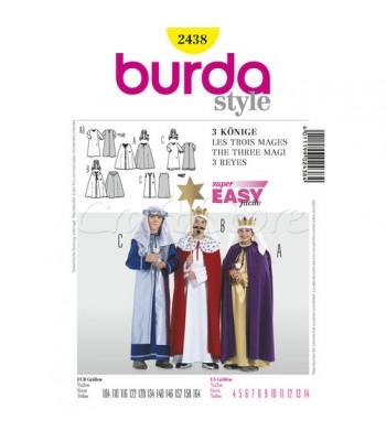 Burda Πατρόν Τρείς Μάγοι 2438 b5206bc1dc9