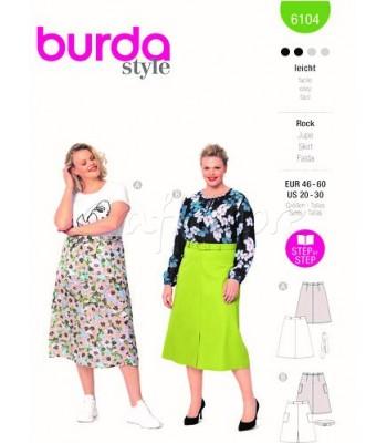 Burda Πατρόν Φούστες 6104