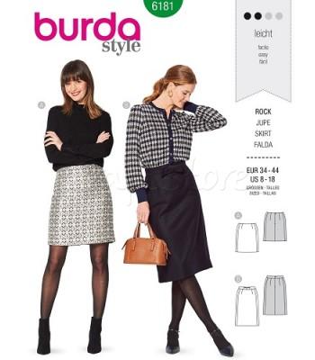 Burda Πατρόν Φούστες 6181