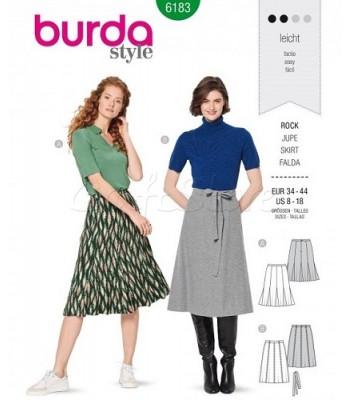 Burda Πατρόν Φούστες 6183