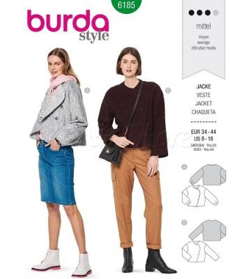Burda Πατρόν Ζακέτες 6185
