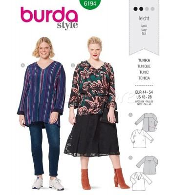 Burda Πατρόν Μπλούζες 6194