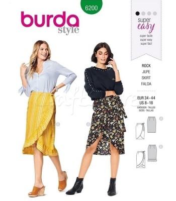 Burda Πατρόν Φούστες 6200