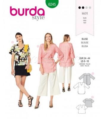 Burda Πατρόν Μπλούζες 6245