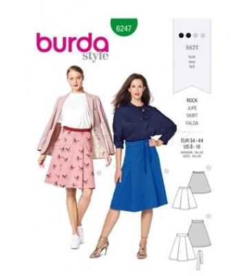 Burda Πατρόν Φούστες 6247