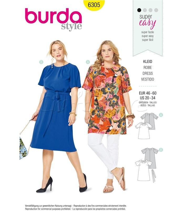 Burda Πατρόν Φορέματα 6305
