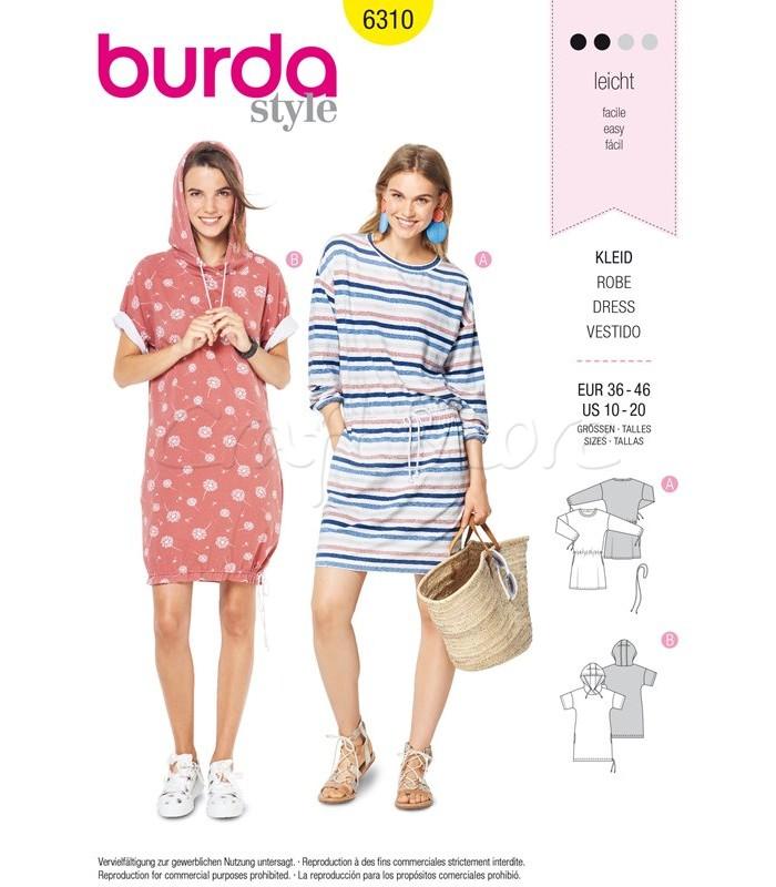 Burda Πατρόν Φορέματα 6310