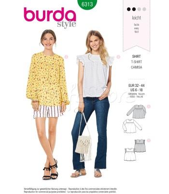 Burda Πατρόν Μπλούζες 6313