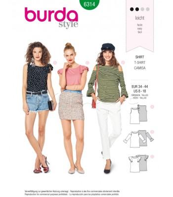 Burda Πατρόν Μπλούζες 6314