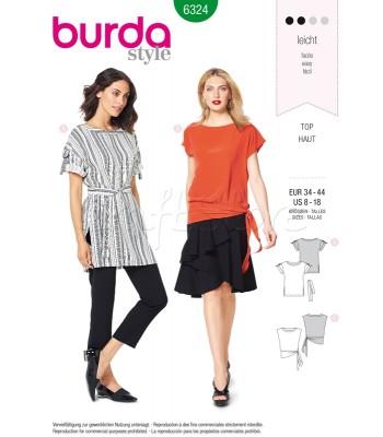 Burda Πατρόν Μπλούζες 6324