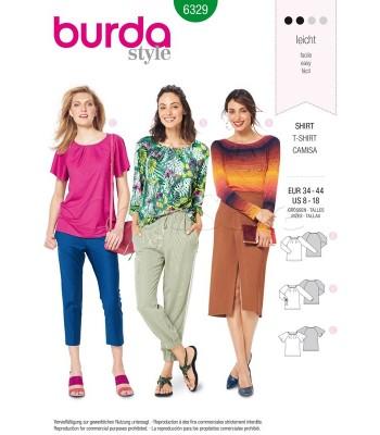 Burda Πατρόν Μπλούζες 6329
