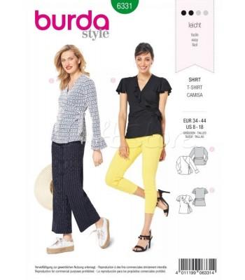 Burda Πατρόν Μπλούζες 6331