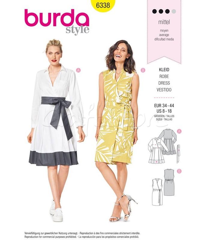 Burda Πατρόν Φορέματα 6338