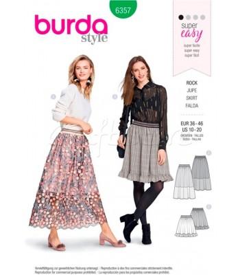 Burda  Πατρόν Φούστες 6357
