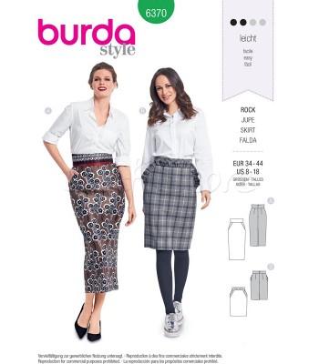 Burda  Πατρόν Φούστες 6370