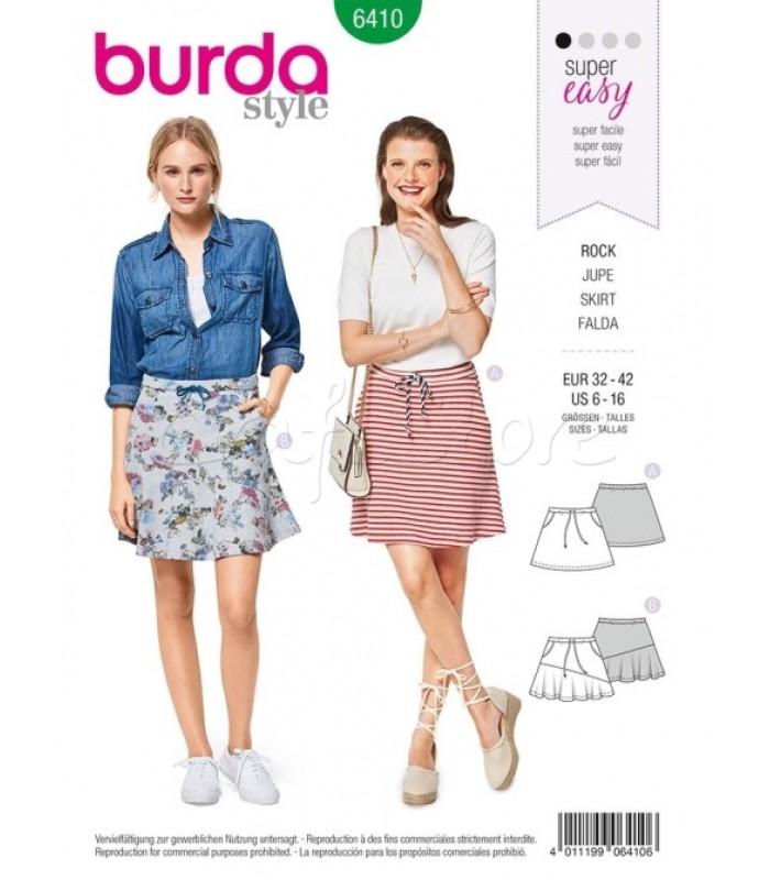 Burda Πατρόν Για Φούστες 6410