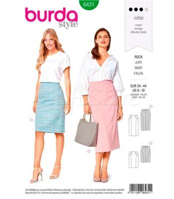 Burda  Πατρόν Φούστες 6431